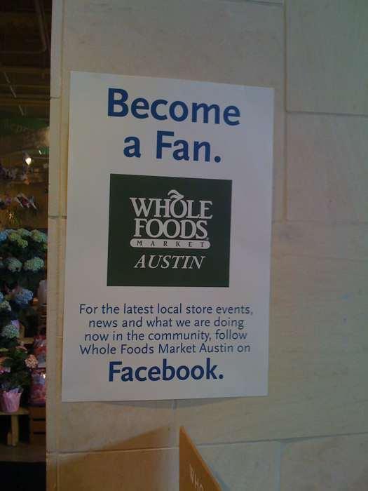 WholeFoods+Facebook